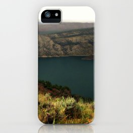 Houseboat On Flaming Gorge Reservoir iPhone Case