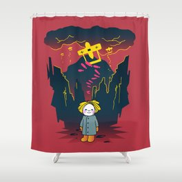 Why? Shower Curtain