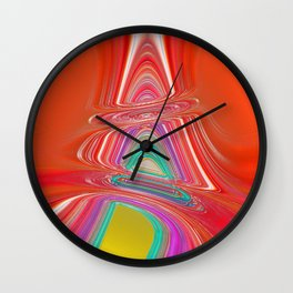 """"""" The art it is beautiful when the hand, the head and the heart work together """"  Wall Clock"""