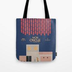 Mon Oncle - Jacques Tati Movie Poster Tote Bag