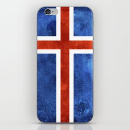 Icelandic Flag iPhone Skin