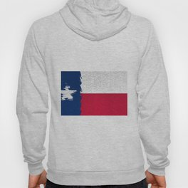 Extruded flag of Texas Hoody