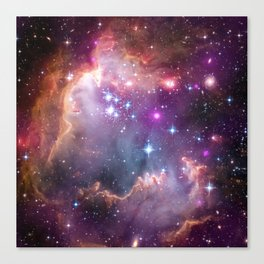 Small Magellanic Cloud - NASA Canvas Print