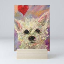Scruffy Little Dog Mini Art Print