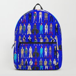 Blue Heroes Group Fashion Outfits Backpack