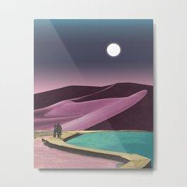 Opal Desert Metal Print