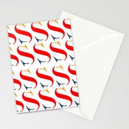 Bauhaus font art vintage Stationery Cards