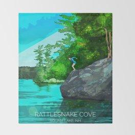 Rattlesnake Cove Throw Blanket
