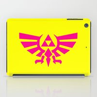 triforce iPad Cases featuring Contrast Triforce by Rebekhaart