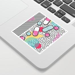 Pills pattern 018 Sticker