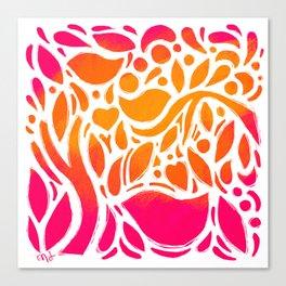 Sunshine Garden Canvas Print