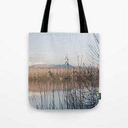 Mountains landscape Tote Bag