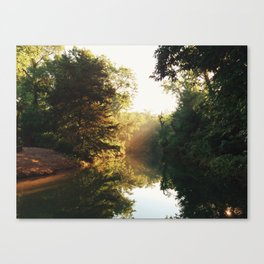 Sunset on the Springs Pt. 2 Canvas Print