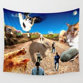 Desert Kitties Wall Tapestry