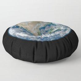 Planet Earth Floor Pillow