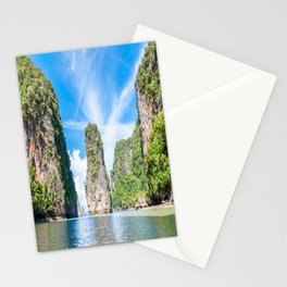 Islets in Phang Nga Bay Stationery Cards