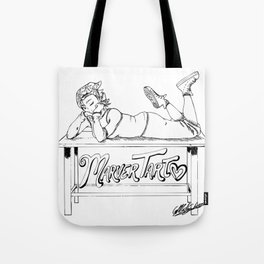 MarverTart Linework Tote Bag