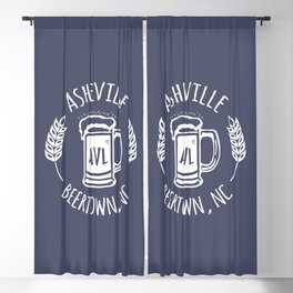 Asheville Beer T-Shirt - WO Blackout Curtain