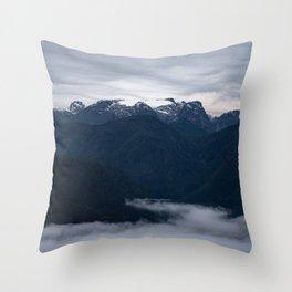 The Glacier Throw Pillow