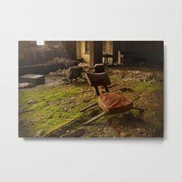 Mason's Chair Metal Print