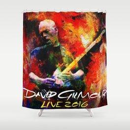 David Gilmour Live 2016 Shower Curtain