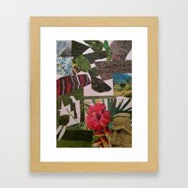 New Olmek View Framed Art Print