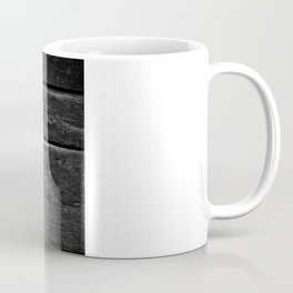 Milk Bottle Vase B&W Coffee Mug