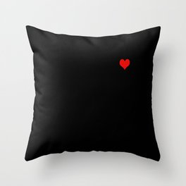 Tangled Up Heart Throw Pillow