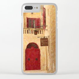 The Silent City Clear iPhone Case