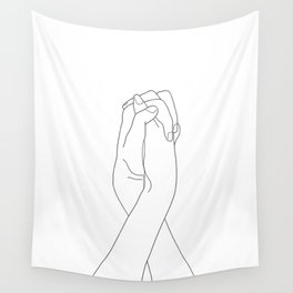 Never Let Me Go II Wall Tapestry