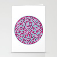 persian Stationery Cards featuring Persian circle by Osgarr