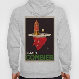 1931 Elixir Combier Dessert Liquor Vintage Poster by Mory Malakoff Hoody