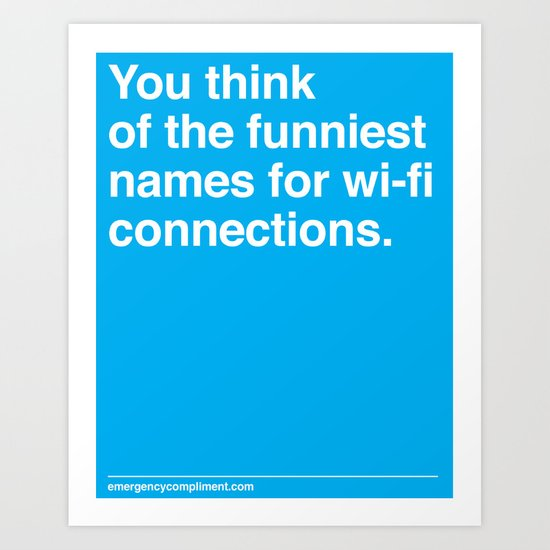 Wi-fi Connections Art Print