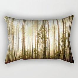 Glowing Forest Rectangular Pillow