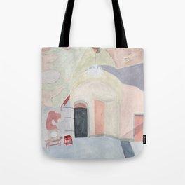 Decay art: pastel Tote Bag