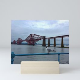 Forth Bridge Scotland Mini Art Print