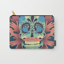 Skull and Hands Carry-All Pouch