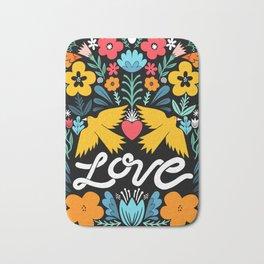 Love bird garden Bath Mat