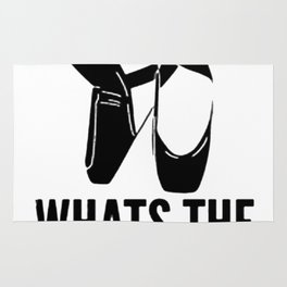 WITHOUT DANCE WHATS THE POINTE TANK TOP Rug