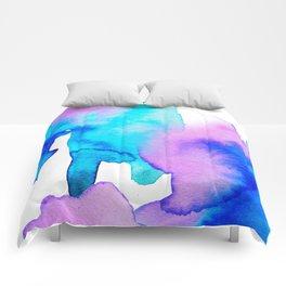 Watercolor 01 Comforters