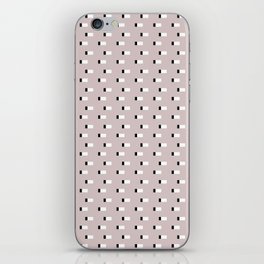 Minimal Squares - Neutral Latte iPhone Skin