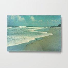 Beach Memory Metal Print