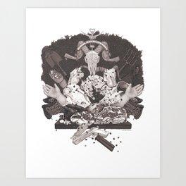 Omnia Munda Mundis Art Print