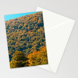 Fall in Franconia Notch State Park. New Hampshire. USA. Stationery Cards