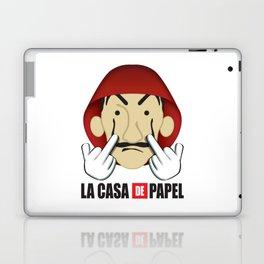 La casa de Papel Money Heist Fuck you Laptop & iPad Skin