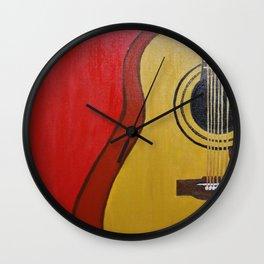 My Guitar Wall Clock