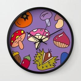 Autumn Harvest_C Wall Clock