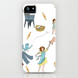 Vintage Laundry Day! iPhone Case