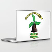 2pac Laptop & iPad Skins featuring Banana Energy Co. by SmallWheel