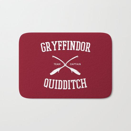 Hogwarts Quidditch Team: Gryffindor Bath Mat